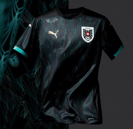 Autriche Euro 2020 maillot exterieur foot officiel
