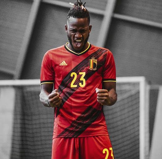 Belgique Euro 2020 maillot domicile Batshuayi
