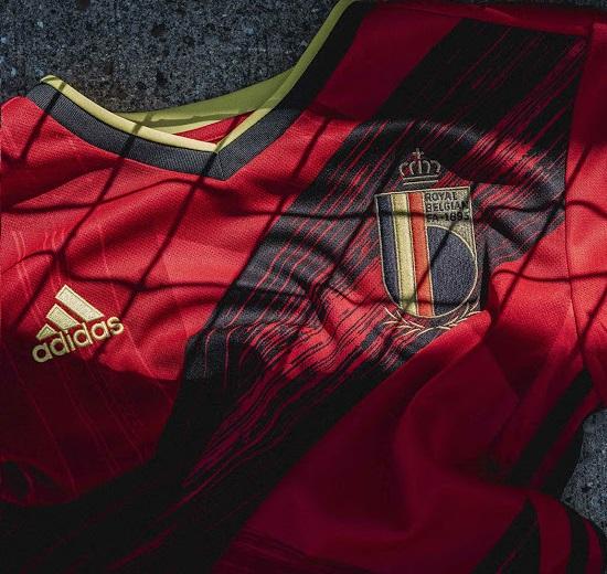Belgique Euro 2020 maillot domicile football