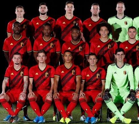 Belgique Euro 2020 maillot domicile