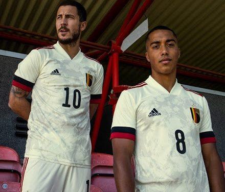 Les nouveaux maillots de la Belgique Euro 2020