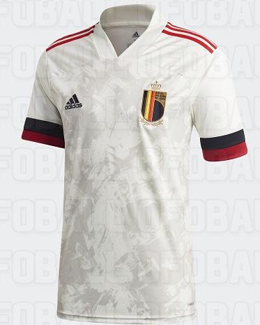 Belgique Euro 2020 nouveau maillot Adidas exterieur