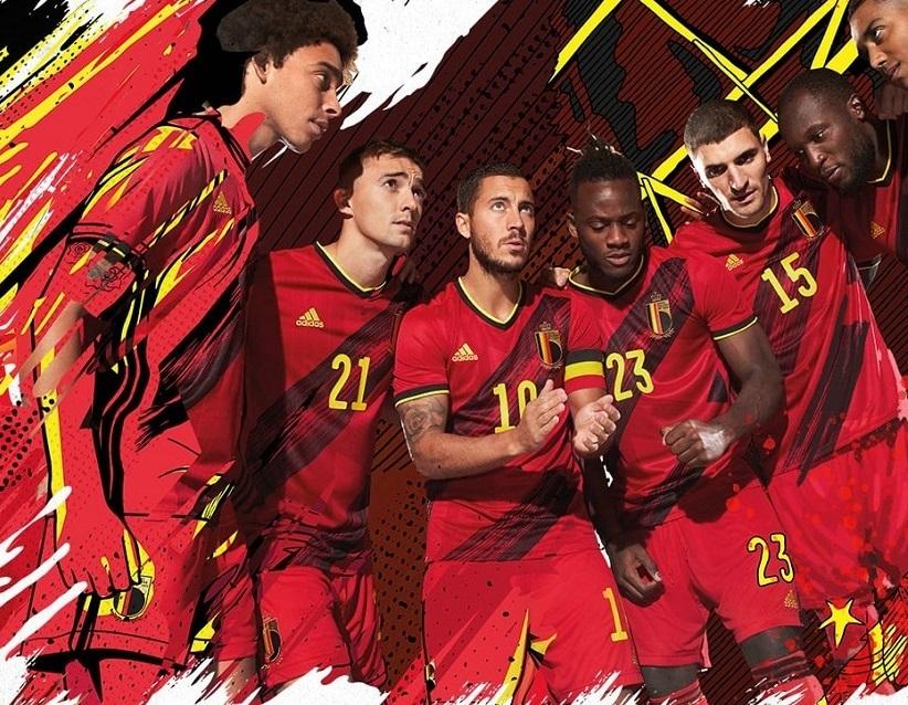 Belgique Euro 2020 nouveau maillot domicile