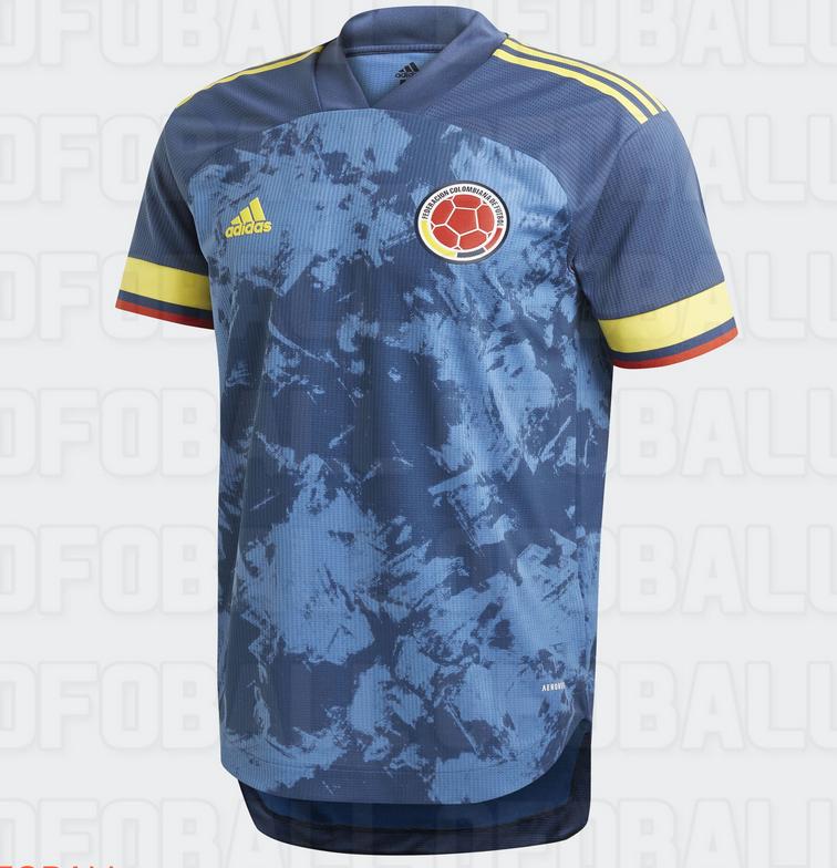 Colombie 2020 maillot de foot exterieur Copa America