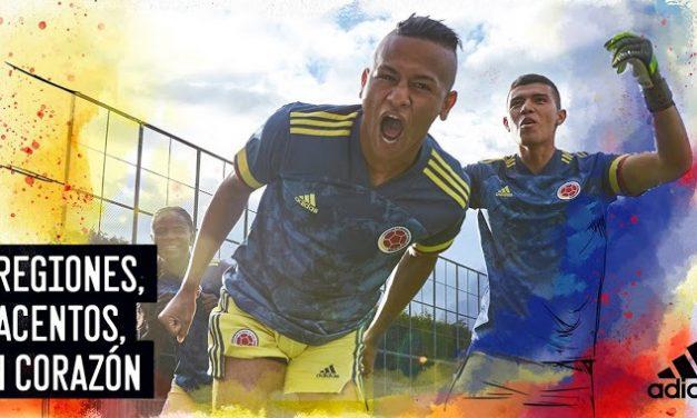 Nouveau maillot foot exterieur Colombie Copa America 2020