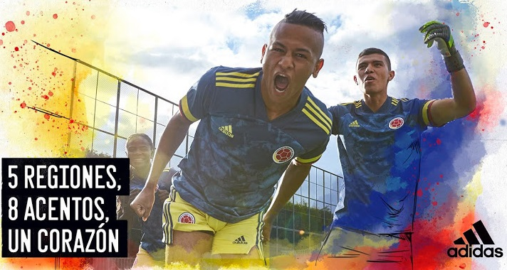 Colombie 2020 maillot exterieur Copa America photo