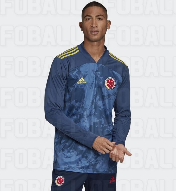 Colombie 2020 maillot exterieur Copa America