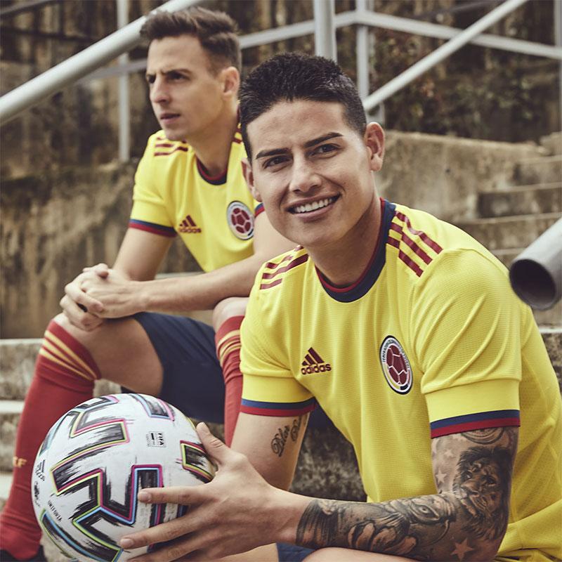Colombie 2021 maillot domicile James