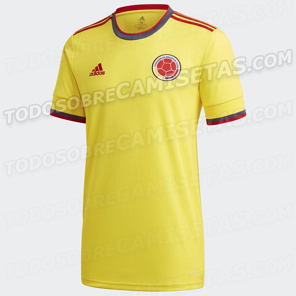 Colombie Copa America 2021 maillot domicile football