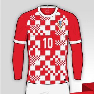 Croatie Euro 2020 possible maillot domicile