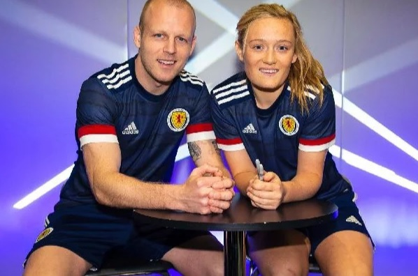 Ecosse 2020 maillot domicile foot Adidas