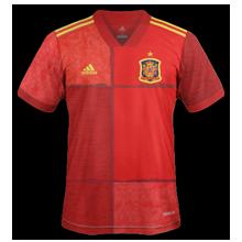 Espagne Euro 2020 maillot football domicile