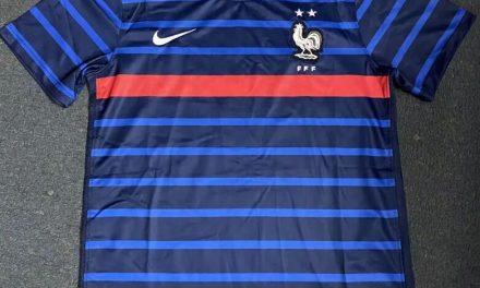 Les nouveaux maillots France Euro 2020