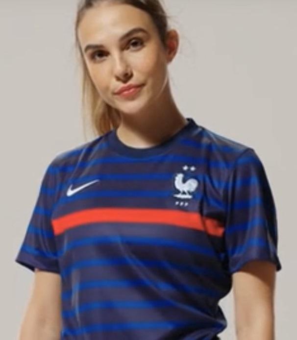 France Euro 2020 maillot de foot domicile