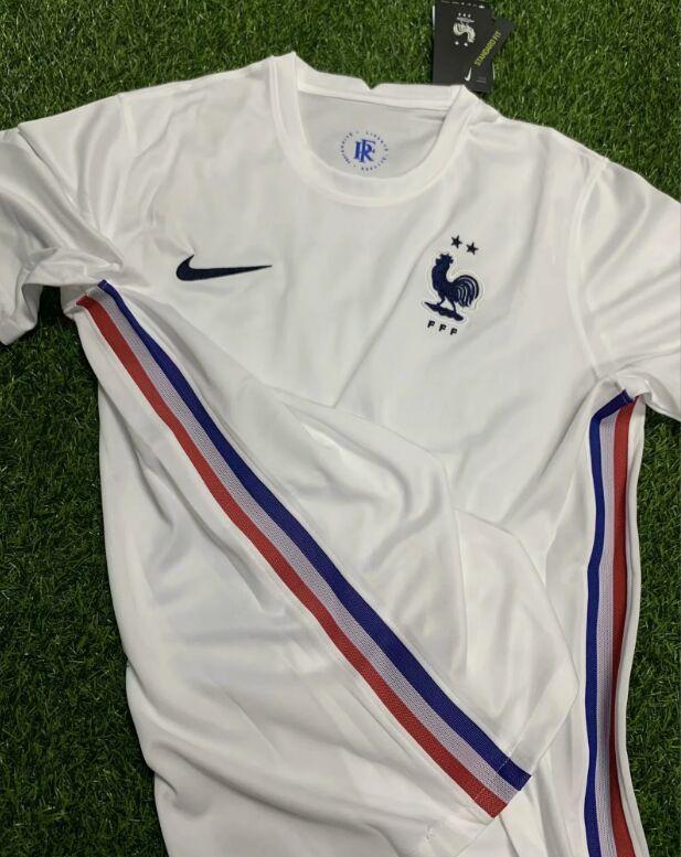 France Euro 2020 maillot de foot exterieur Nike