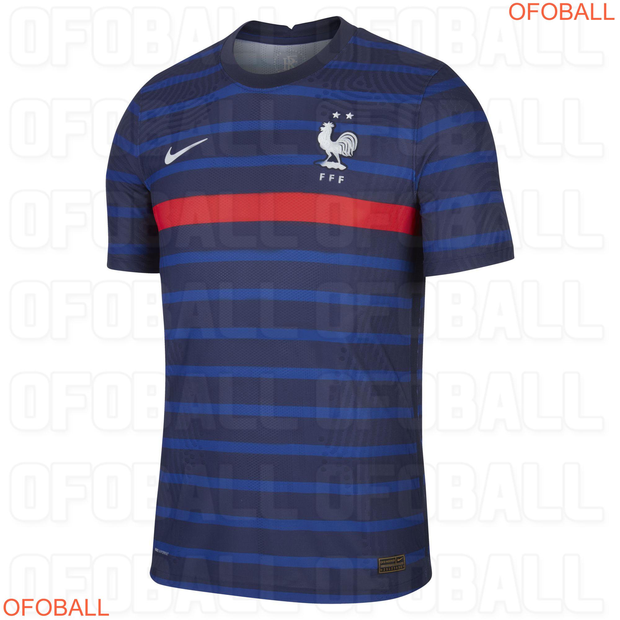 France Euro 2020 maillot domicile