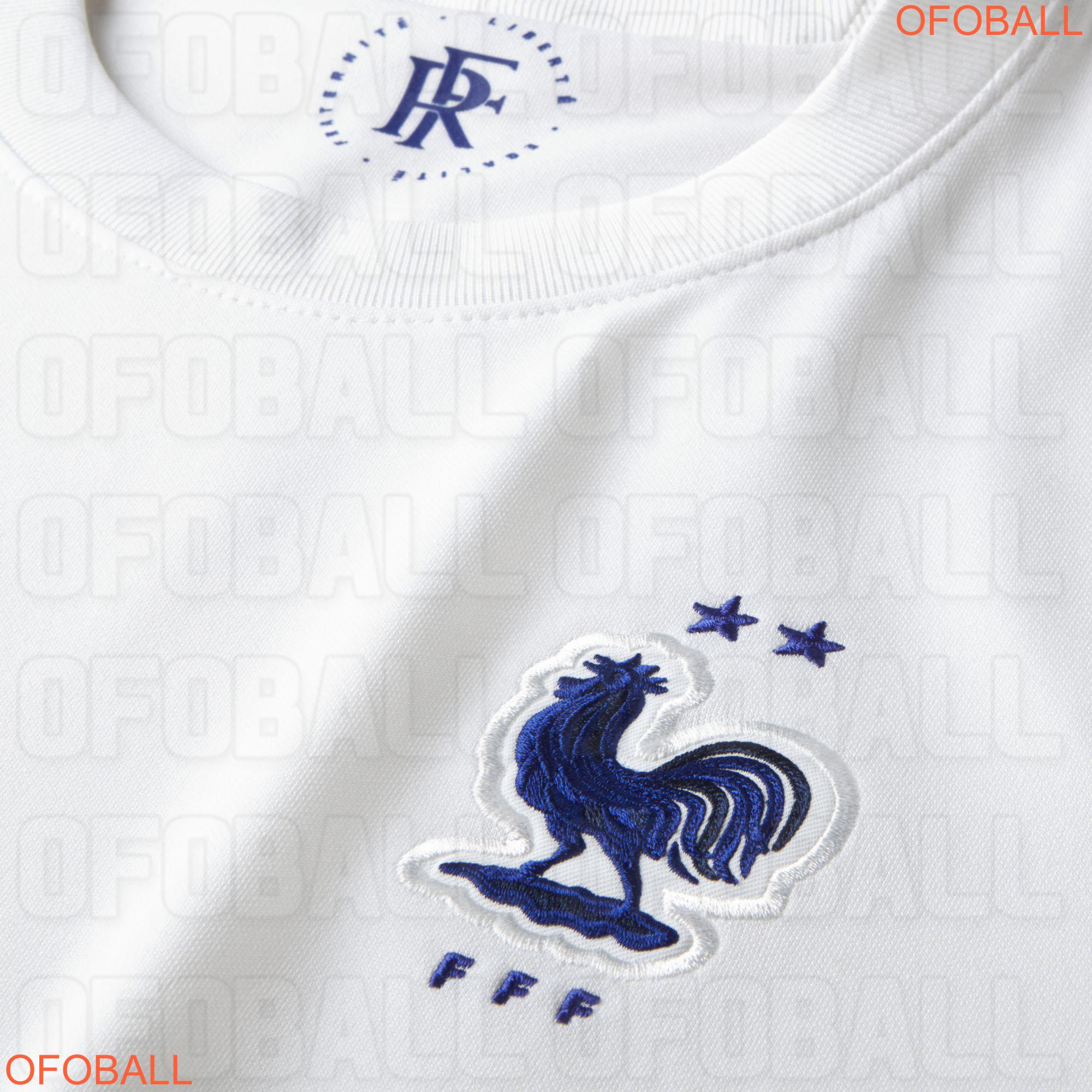 France Euro 2020 maillot exterieur logo