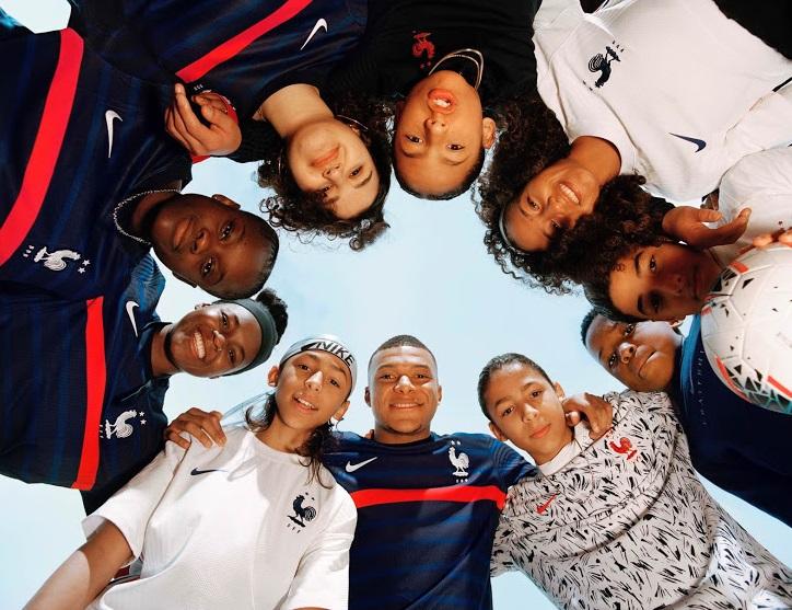 France Euro 2020 nouveaux maillots de football