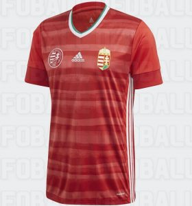 Hongrie Euro 2020 maillot football domicile