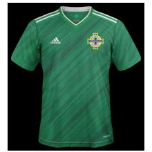 Irlande du nord 2020 maillot de foot domicile