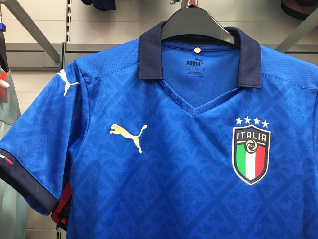 Italie Euro 2020 maillot domicile Puma