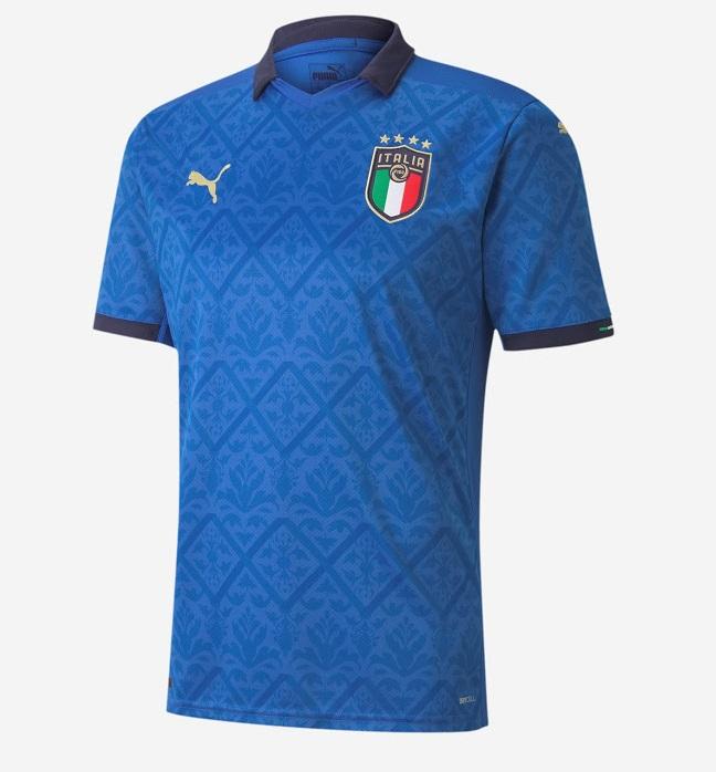 Italie Euro 2020 maillot domicile football Puma