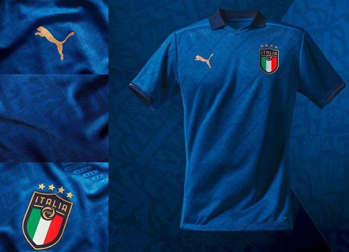 Italie Euro 2020 maillot domicile officiel Puma