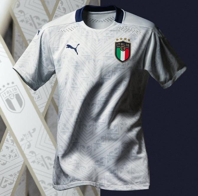 Italie Euro 2020 maillot exterieur officiel
