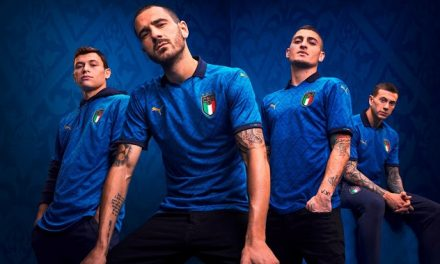 Présentation des maillots de football Italie Euro 2020