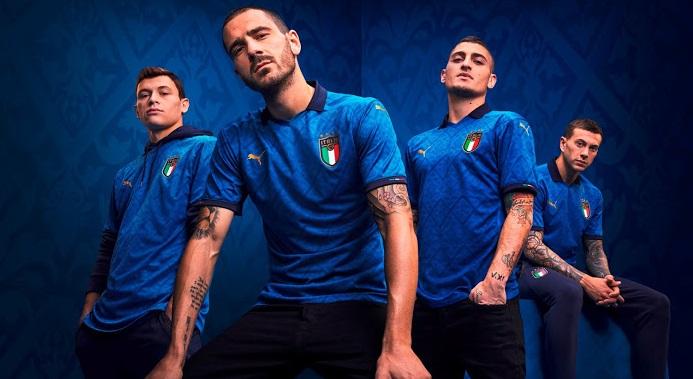 Italie Euro 2020 nouveau maillot domicile