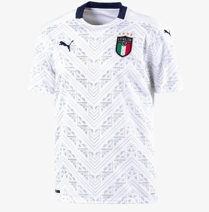 Italie Euro 2020 nouveau maillot exterieur