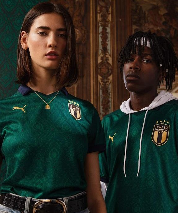Italie Euro 2020 third maillot foot renaissance