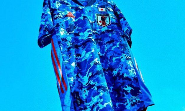Nouveaux maillots du Japon 2020