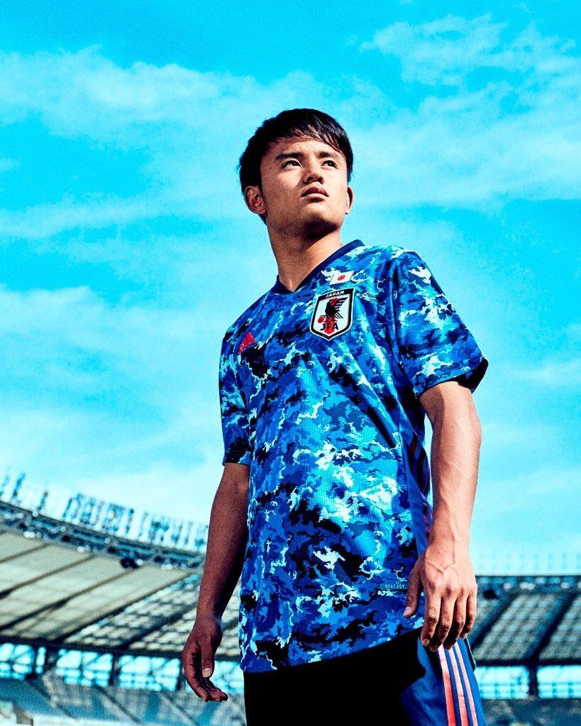 Japon 2020 maillot domicle