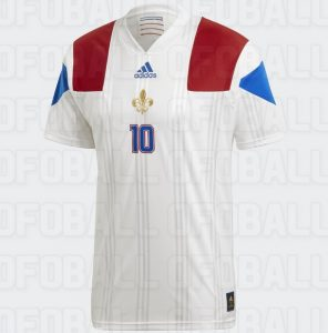 Maillot foot Paris Euro 2020