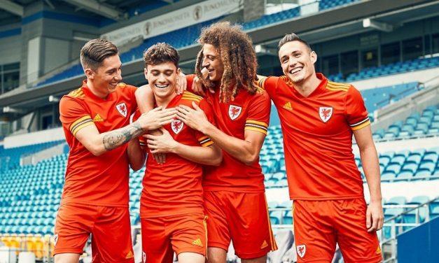 Pays de Galles Euro 2020 les maillots de football avec Adidas
