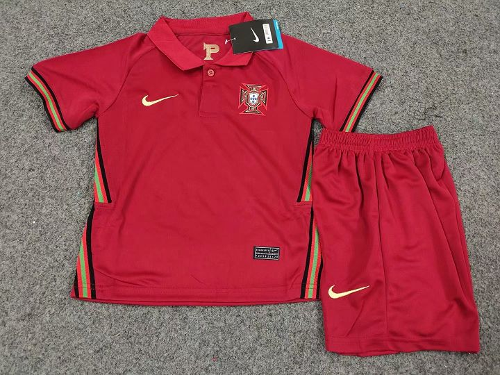 Portugal Euro 2020 maillot domicile foot et short