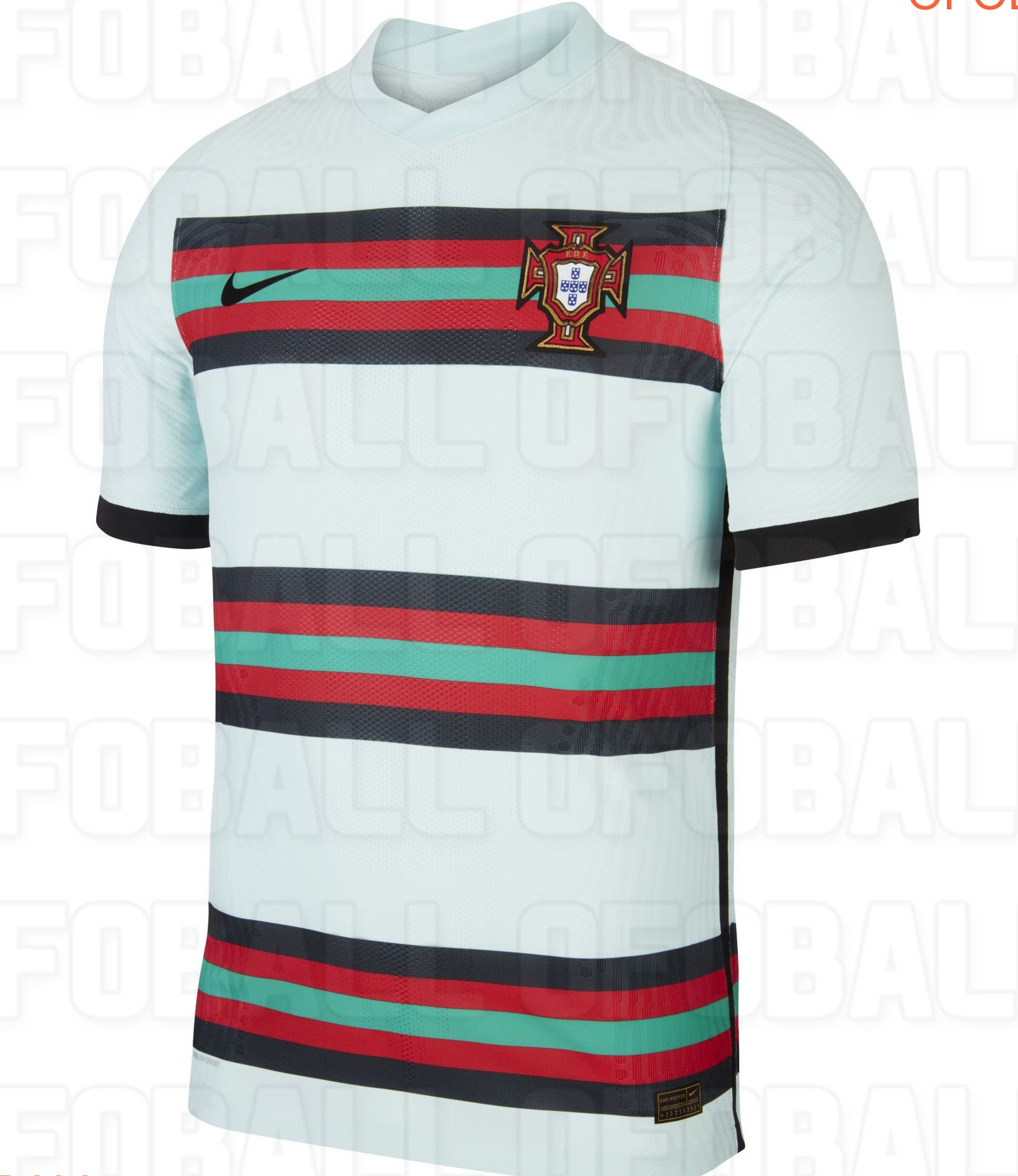 Portugal maillot exterieur foot Euro 2020