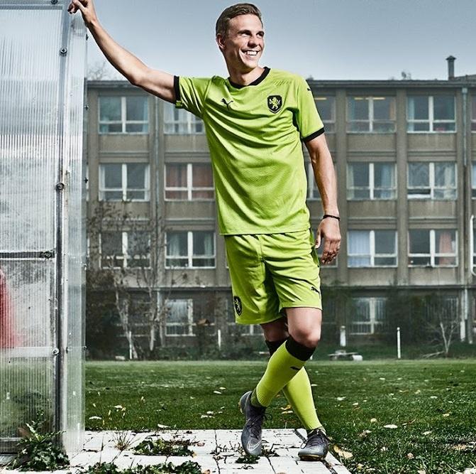 Republique Tcheque Euro 2020 maillot exterieur foot Puma