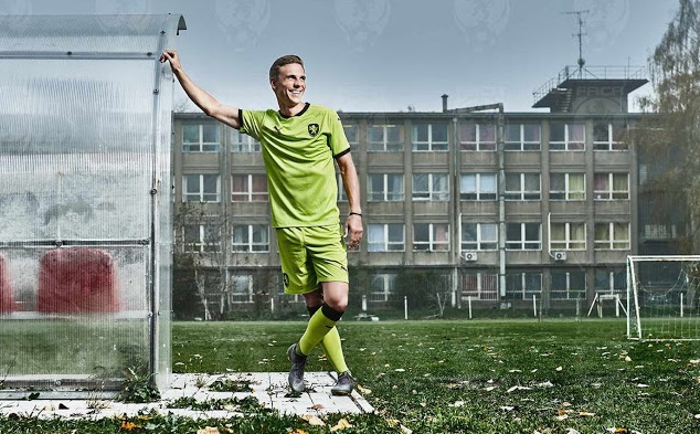 Republique Tcheque Euro 2020 maillot exterieur football officiel