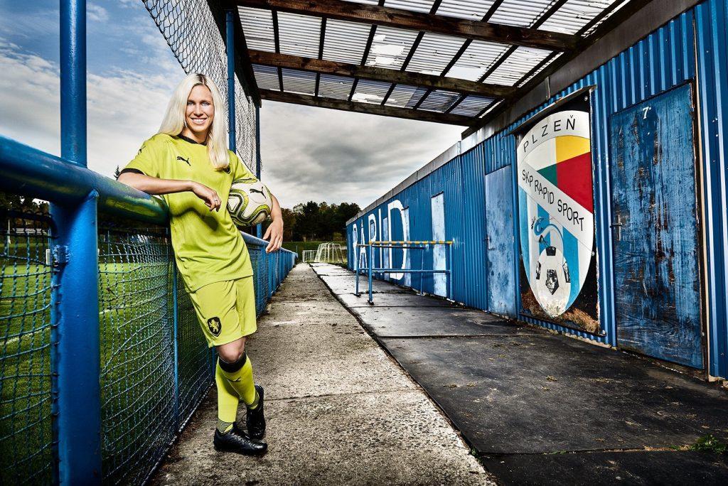 Republique Tcheque maillot exterieur vert fluo Euro 2020
