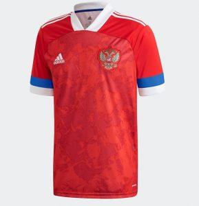 Russie Euro 2020 maillot de foot domicile Adidas