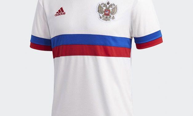 Nouveaux maillots de foot Russie Euro 2020