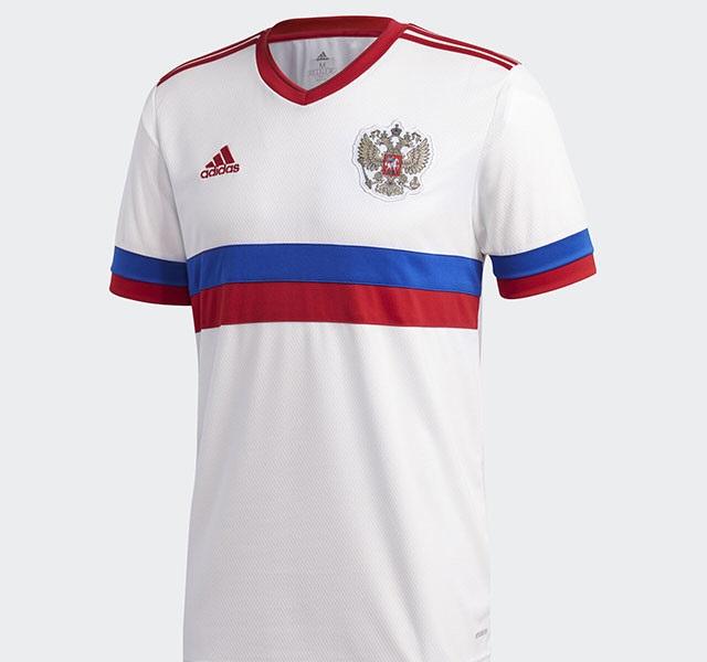 Russie Euro 2020 maillot de foot exterieur Adidas