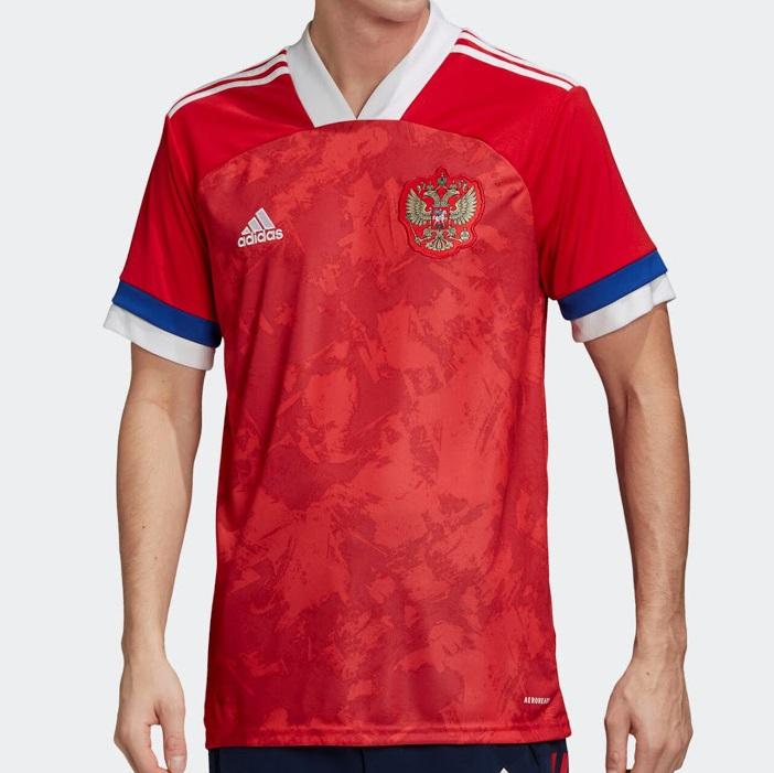 Russie Euro 2020 maillot de football domicile