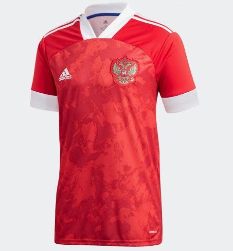 Russie Euro 2020 maillot domicile officiel