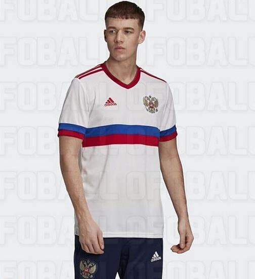 Russie Euro 2020 maillot exterieur Adidas