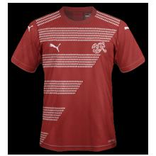 Suisse Euro 2020 maillot de foot domicile