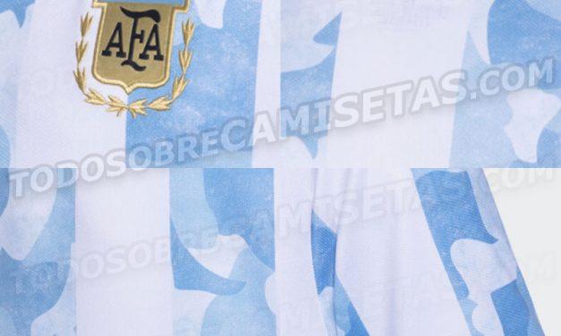 Les nouveaux maillots Argentine Copa America 2021