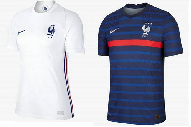 maillots de foot de la France Euro 2020